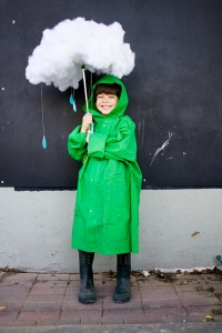 Zoubaby Halloween Costume Ideas - Rain Cloud