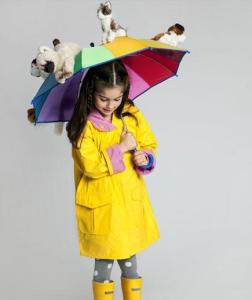 Halloween Costume Ideas from Zoubaby: Raining Cats and Dogs